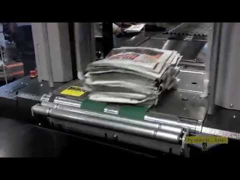 Energy Efficient Packaging Solution for the Newspaper and Commercial Printing Industry