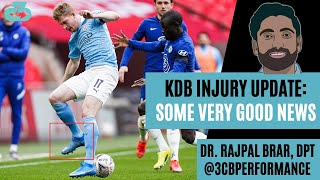 Kevin De Bruyne Injury Update (right foot/ankle)   Expert explains