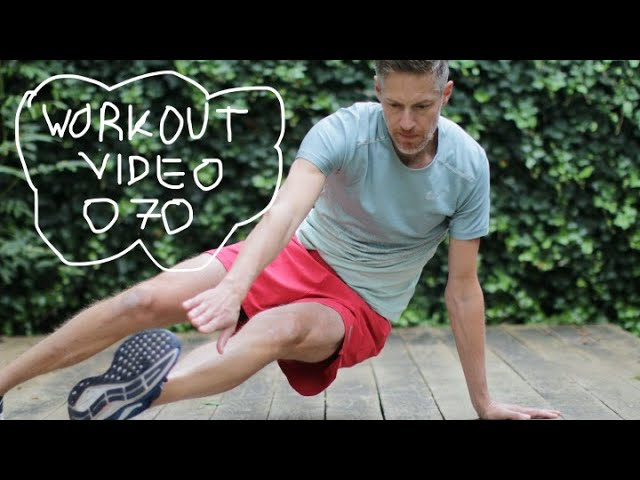 Core en benen trainen | Fit's Life Workout 070