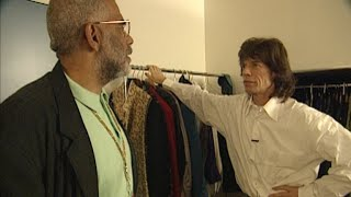 This week in 94: backstage with Mick Jagger