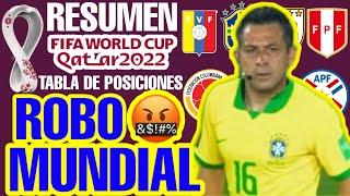 RESUMEN y TABLA DE POSICIONES  ▶▶ Fecha 2 ⚽ CLASIFICATORIAS QATAR 2022 | Eliminatorias CONMEBOL 2020