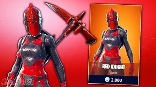 SKIN CHEVALERESSE ROUGE DE RETOUR (RED KNIGHT BACK) Fortnite Battle Royale