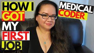 HOW I GOT MY FIRST JOB AS A MEDICAL CODER