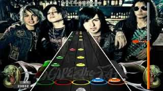 Guitar Flash Gorgeous Nightmare - Escape The Fate 100% Expert 35,785