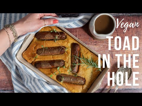 VEGAN TOAD IN THE HOLE