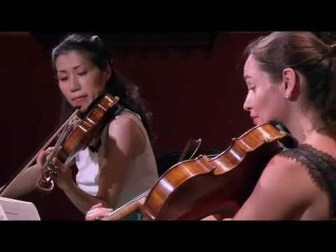 Trio con Brio Copenhagen & Lise Berthaud - 1. mov. - R.Schumann: Piano Quartet E-flat major, Op. 47