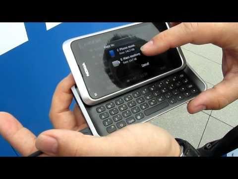 Nokia E7 Hands-on