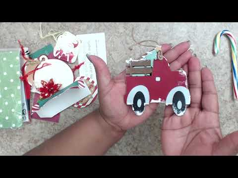 CHRISTMAS | WINTER SHAPED TAG SWAP | REVEAL | GROUP #9