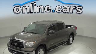 A99898GT Used 2013 Toyota Tundra Grade RWD 4D CrewMax Test Drive, Review, For Sale