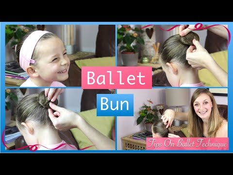How To Do A Ballet Bun (Easy Step By Step Ballet Bun Video) | Tips On Ballet Technique