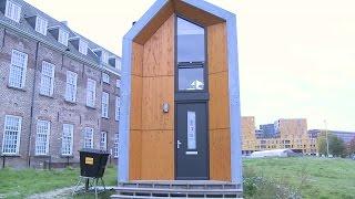 """Wonen in een tijdelijke woning in het centrum is """"echt ideaal"""""""