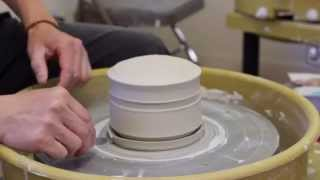213. Making A Covered Jar/Box With Texture Lid With Hsin-Chuen Lin