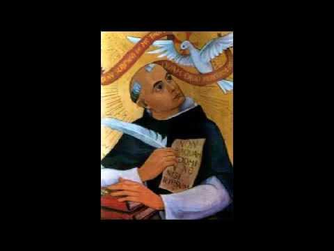 St Thomas d'Aquin - La chaîne d'or, Matthieu 6:10