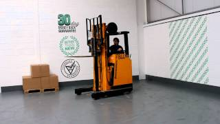 800 Jungheinrich Electric 1600KG Used Reach Forklift Truck.MOV