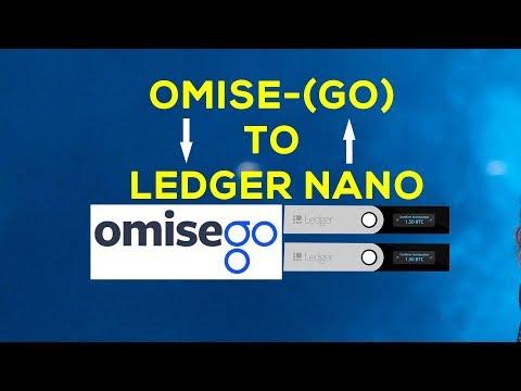 HOW TO STORE OMG ON LEDGER NANO S