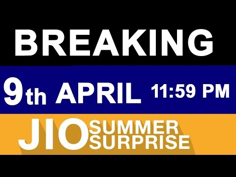 JIO NEWS: Summer Surprise OFFER Till 8th APRIL Midnight | Doubts Cleared | What to do next ?