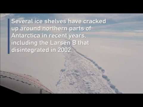 The largest iceberg EVER is ready to break off Antarctica