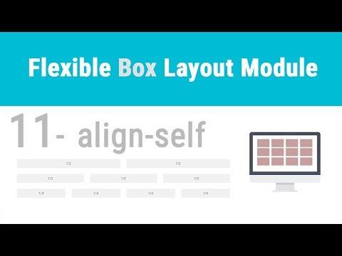 CSS: Flexbox 11 - align-self