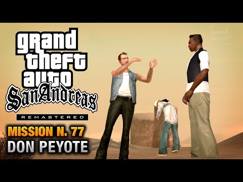 GTA San Andreas Remastered - Mission #77 - Don Peyote (Xbox 360 / PS3)