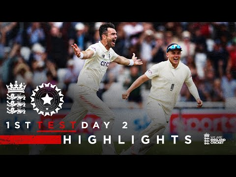 Match 2 In 2 From Anderson Sparks Comeback!   England V India - Day 2   1st LV= Insurance Test 2021