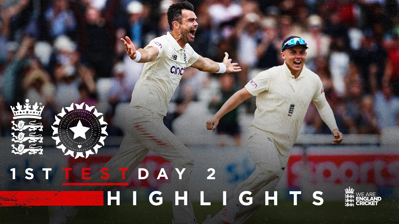 Match 2 In 2 From Anderson Sparks Comeback! | England v India - Day 2 | 1st LV= Insurance Test 2021