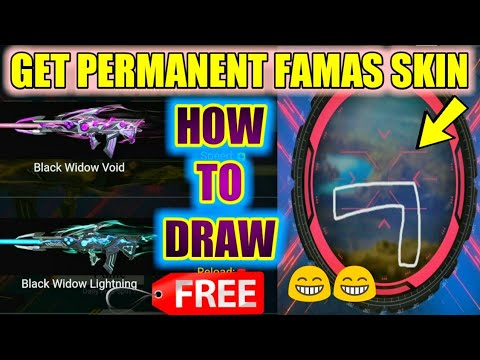 Get Free Famas Gun Permanent Skin Free Fire New Event Famas Crafting