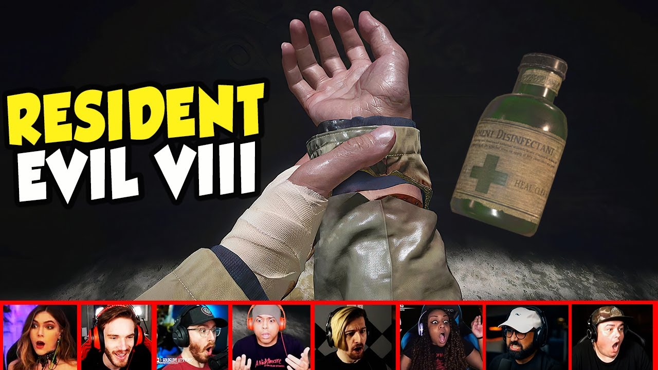 Gamers Reaction To Seeing How Ethan Puts His Hand Back On In Resident Evil 8 | Mixed Reactions