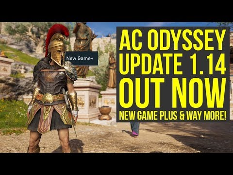 Assassin's Creed Odyssey Update 1 14 ALL INFO - New Game Plus & Way More  (AC Odyssey Update 1 14)