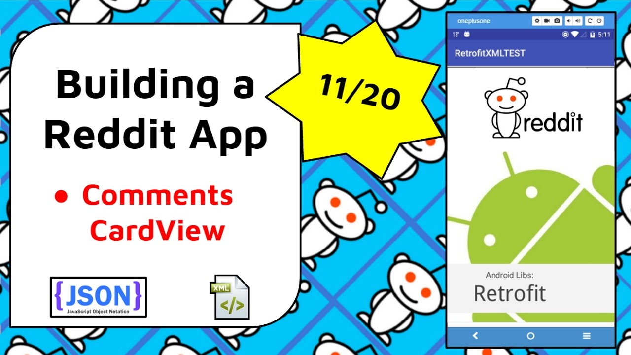 Displaying Reddit Comments in a ListView CardView [Build a Reddit App Part  11]