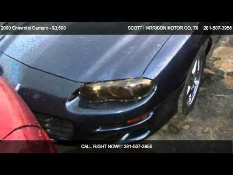 2000 chevrolet camaro z28 for sale in houston tx 77038 for Scott harrison motors houston tx