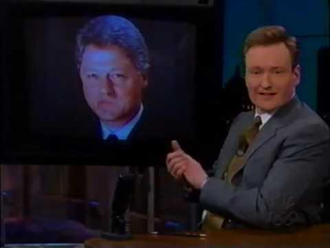 Late Night with Conan O'Brien   1999 01 20   Tony Curtis, Mathew Lillard, Patti Smith
