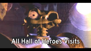 MediEvil - All Hall of Heroes Visits