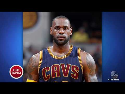 "LeBron James' Home Vandalized With ""Racial Slur"" 