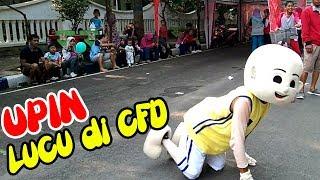 Performa Oklik New Larasati CFD Bojonegoro - UPIN & IPIN DAH BESAR BADUT Car Free Day
