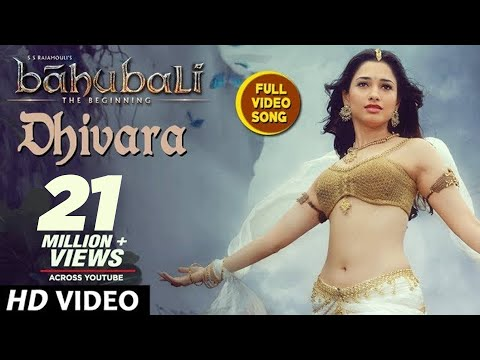 Baahubali Songs | Dhivara Full Video Song | Prabhas, Anushka Shetty,Rana,Tamannaah | M M Keeravani