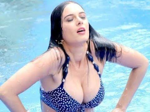 Cute Vs Pink Wallpapers Evelyn Sharma Hot In Bikini Bollywood Hot Scene From Sunny