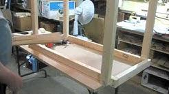 Folding Leg Work Table