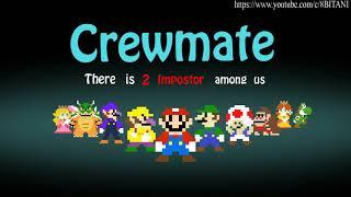 Among Us With Super Mario Characters   Among Us Animation