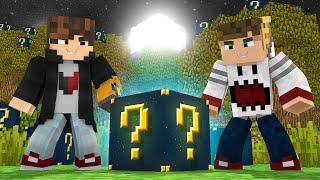 Minecraft: SKYWARS LUCKYBLOCK - QUE A SORTE COMECE! - ‹ JUAUM ›