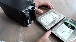 LifeHack - NAS Buffalo Linkstation defekte Festplatte tauschen und Volume reparieren