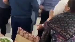 Массовая драка на свадьбе в Дагестане попала на видео