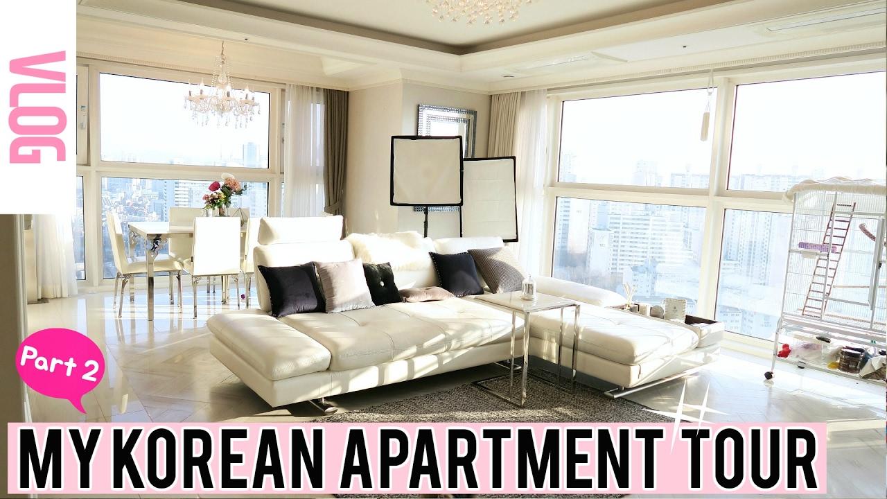 My Korean Apartment Tour Part 2 미즈뮤즈의 한국 집 구경 2편 Meejmuse