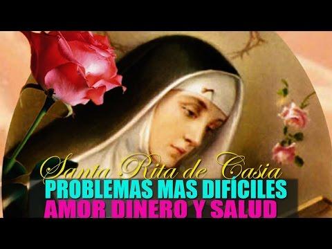 Oración a SANTA RITA para pedirle por problemas mas Dificiles,  Dinero, Salud o Amor