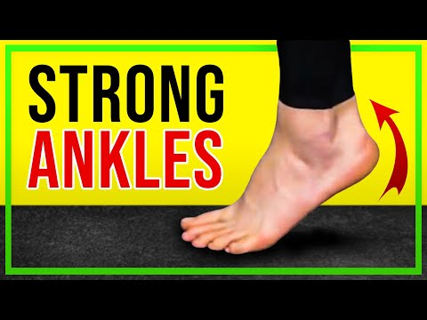 Three Ankle Strengthening Exercises No Equipment Required
