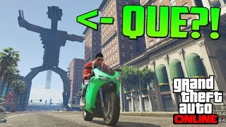 ¡¡ IncreÍble !! Un Monstruo En Los Santos! - Gameplay Gta 5 Online Funny Moments (carrera Gta V Ps4)