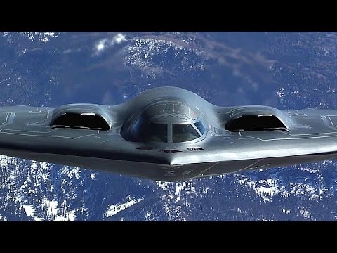 B-2 Stealth Bomber In-flight Refueling