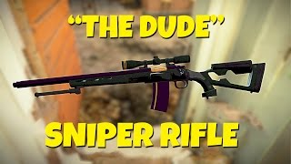 ONE SHOT, ONE KILL The Dude Sniper Rifle - Fallout 4 Weapon Mod Spotlight