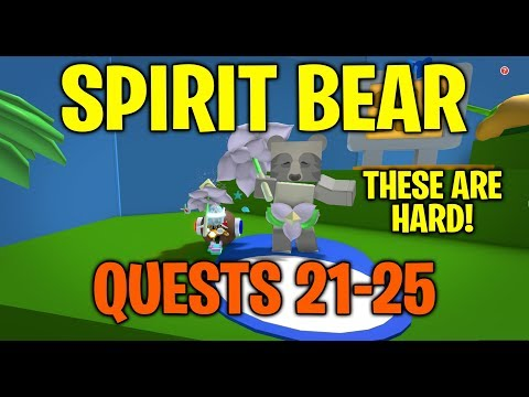 spirit-bear-quests-21-25---bee-swarm-simulator
