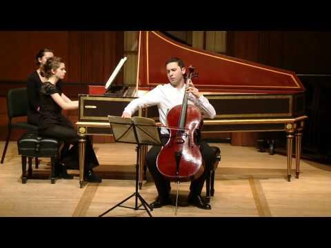 BACH Sonata in G major for Viola da Gamba, BWV 1027