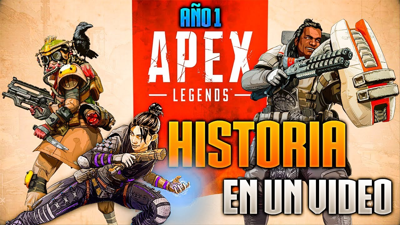 "HISTORIA DE APEX LEGENDS ""AÑO 1"" EN UN VÍDEO."